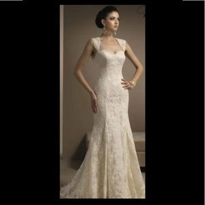 All Lace Bridal Gown